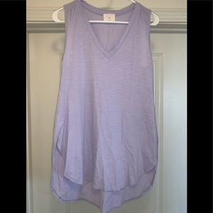 Anthropologie T.la Tunic Top Lilac Lavender VN XS